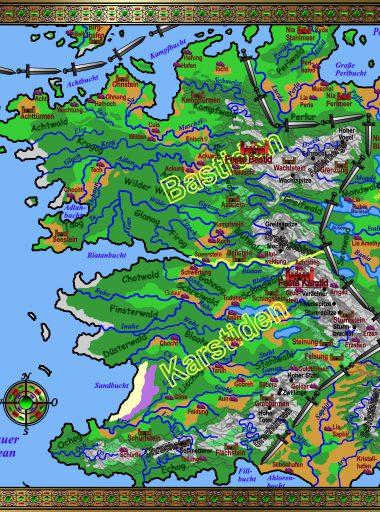 Karte Barkland - Horden