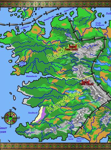 Karte Barkland - Horden wenger Infos