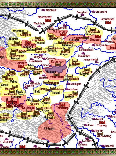 Karte Gotonien - weiß mit Köan